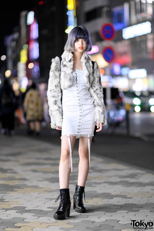 Модные и интересные персонажи с улиц Токио - 27 (40 фото)