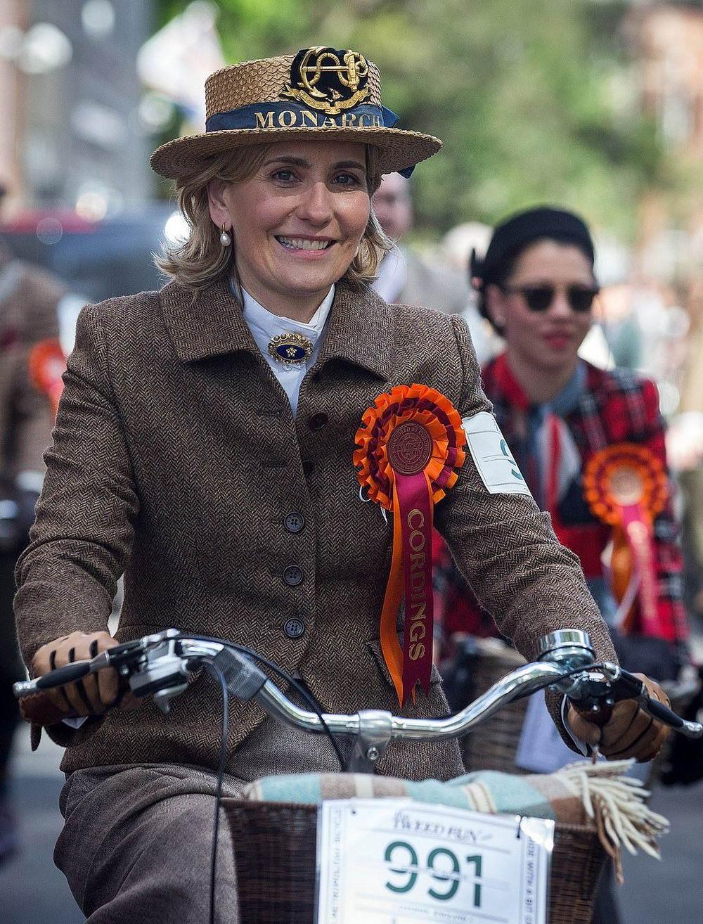 Ежегодный твидовый пробег в Лондоне (20 фото)