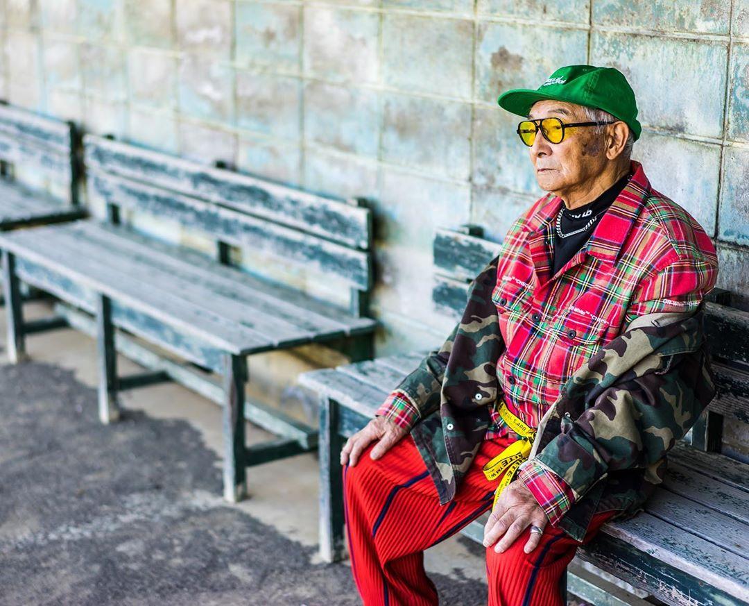 84-летний дедушка из Японии за неделю смог привлечь в Instagram-аккаунт более 36 тыс подписчиков