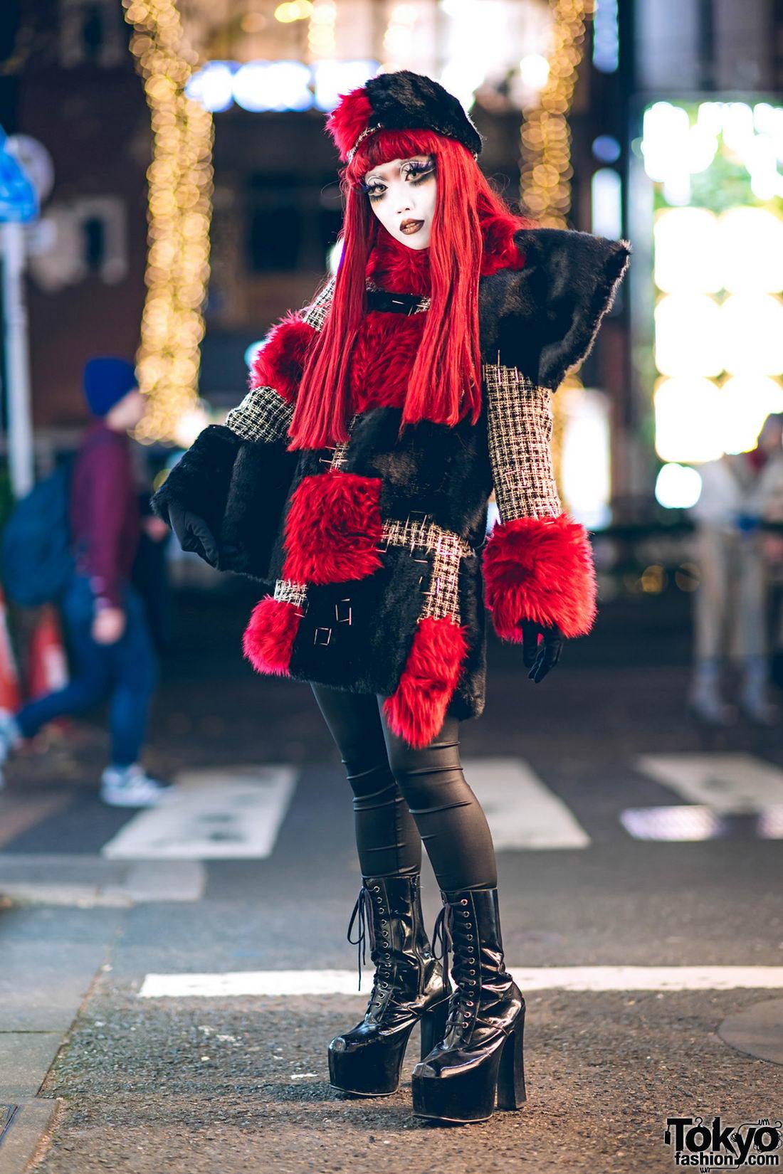 Модные и яркие персонажи с улиц Токио - 28 (40 фото)