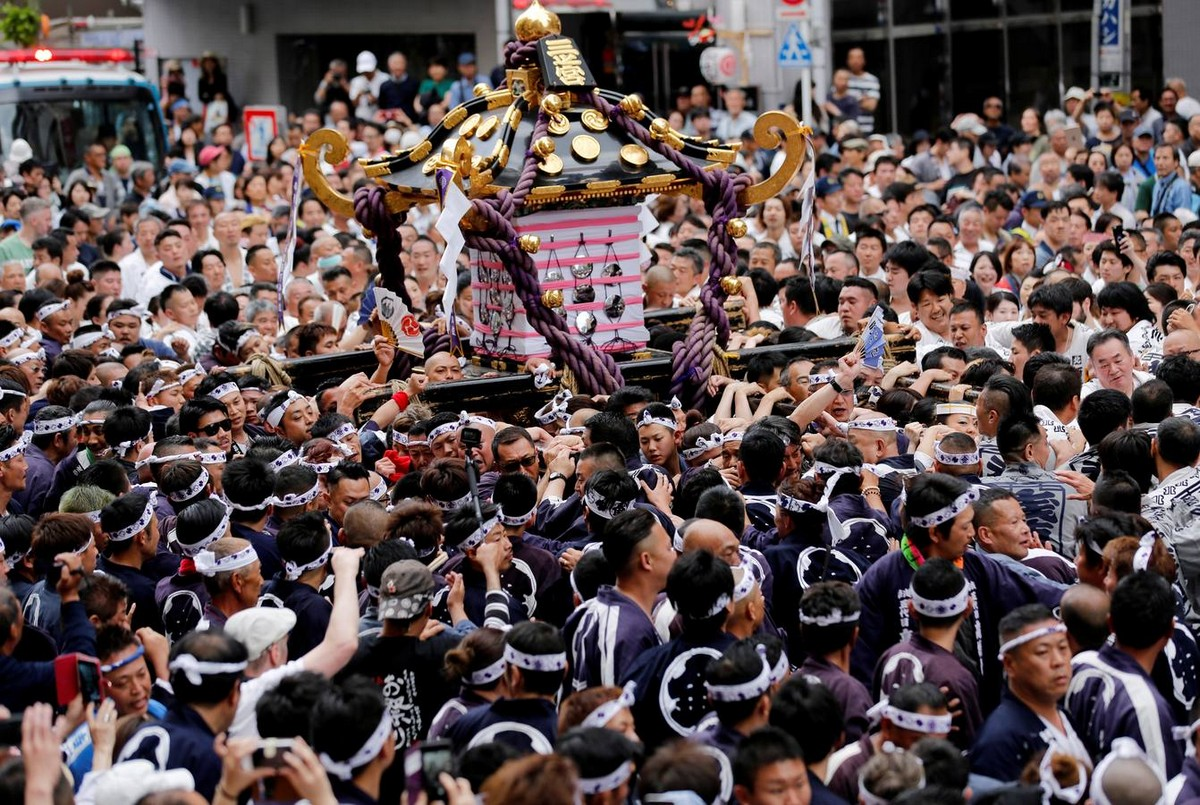 Фестиваль «Мацури» в Токио