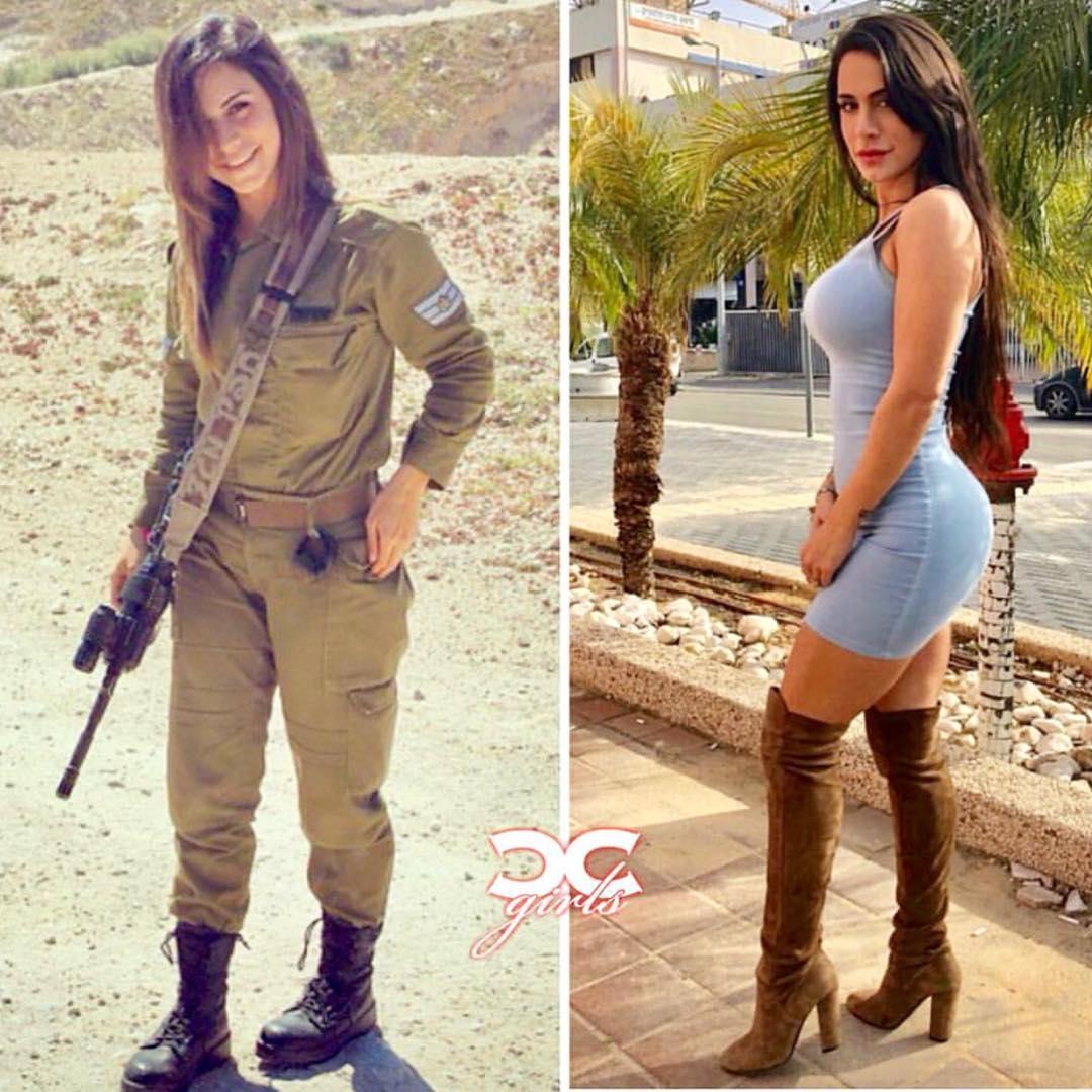 «Королева оружия» из Израиля (25 фото)