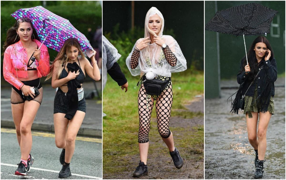 Дождь и грязь не испугали посетителей фестиваля Parklife
