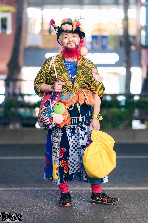 Модные и яркие персонажи с улиц Токио - 29 (40 фото)