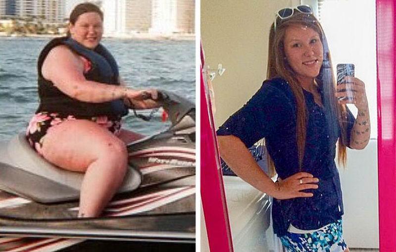 Впечатляющие результаты похудения \До и после\ - 6 (50 фото)