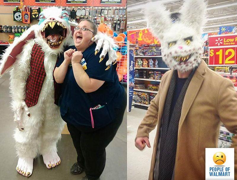 Прикольные и странные покупатели из Walmart - 19 (45 фото)