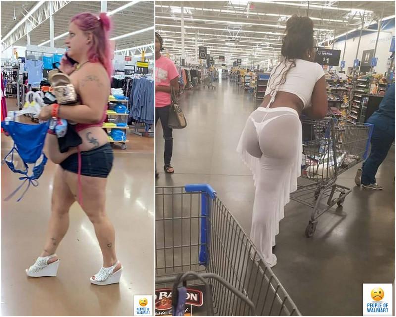 Прикольные и странные покупатели из Walmart - 20 (35 фото)