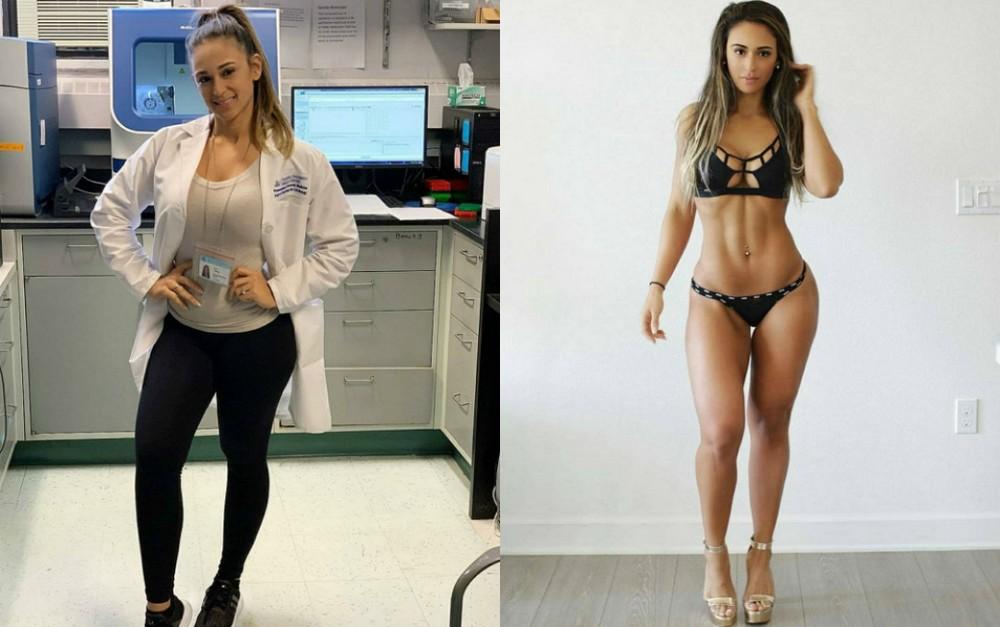 Девушки в форме и без неё - 11 (40 фото)