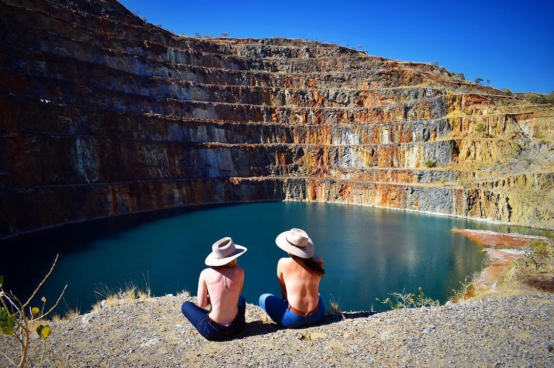 Урановый рудник в Австралии стал очень популярным среди любителей фото для Instagram