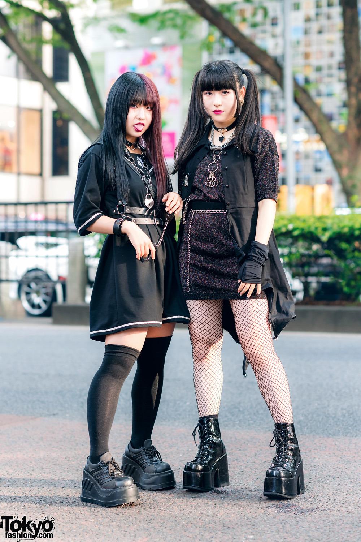 Модные и яркие персонажи с улиц Токио - 30 (40 фото)