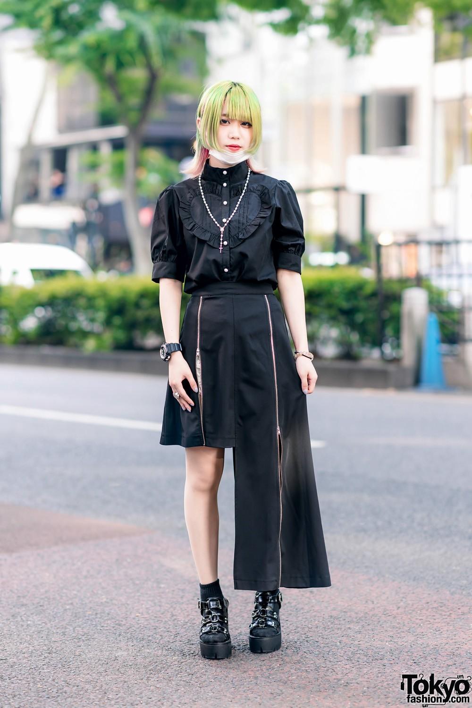 Модные и яркие персонажи с улиц Токио - 31 (40 фото)