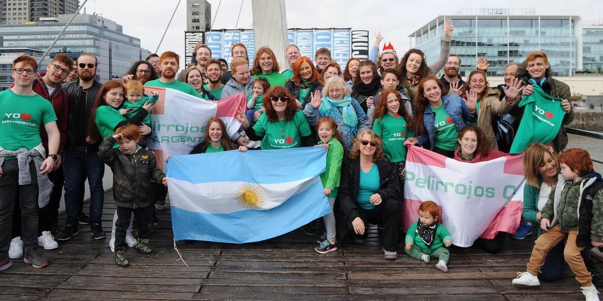 Всемирный День рыжих в Аргентине