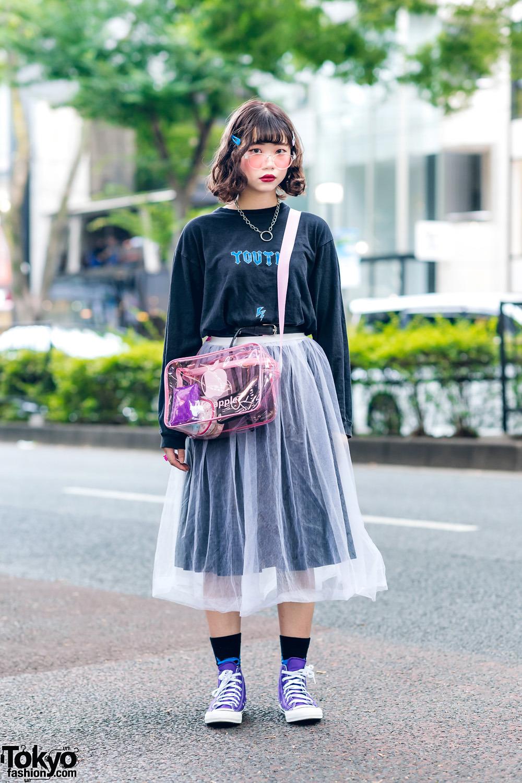 Модные и яркие персонажи с улиц Токио - 32 (40 фото)