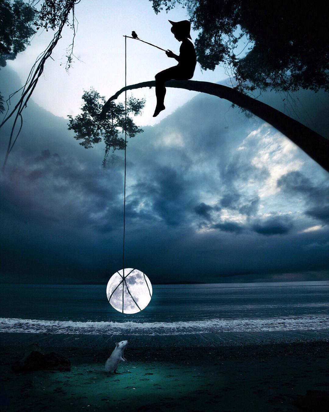 Мир сказок и фантазий Марселя ван Льюита (30 фото)