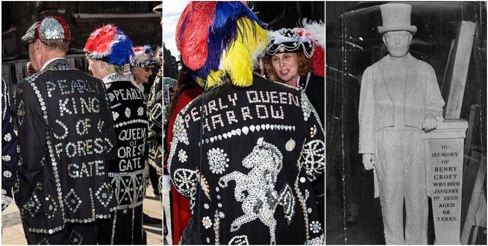 В Лондоне прошел ежегодный парад жемчужных королей и королев