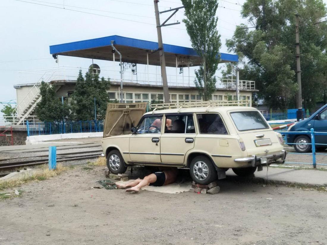 Подборка автомобильных приколов и юмора - 8 (40 фото)