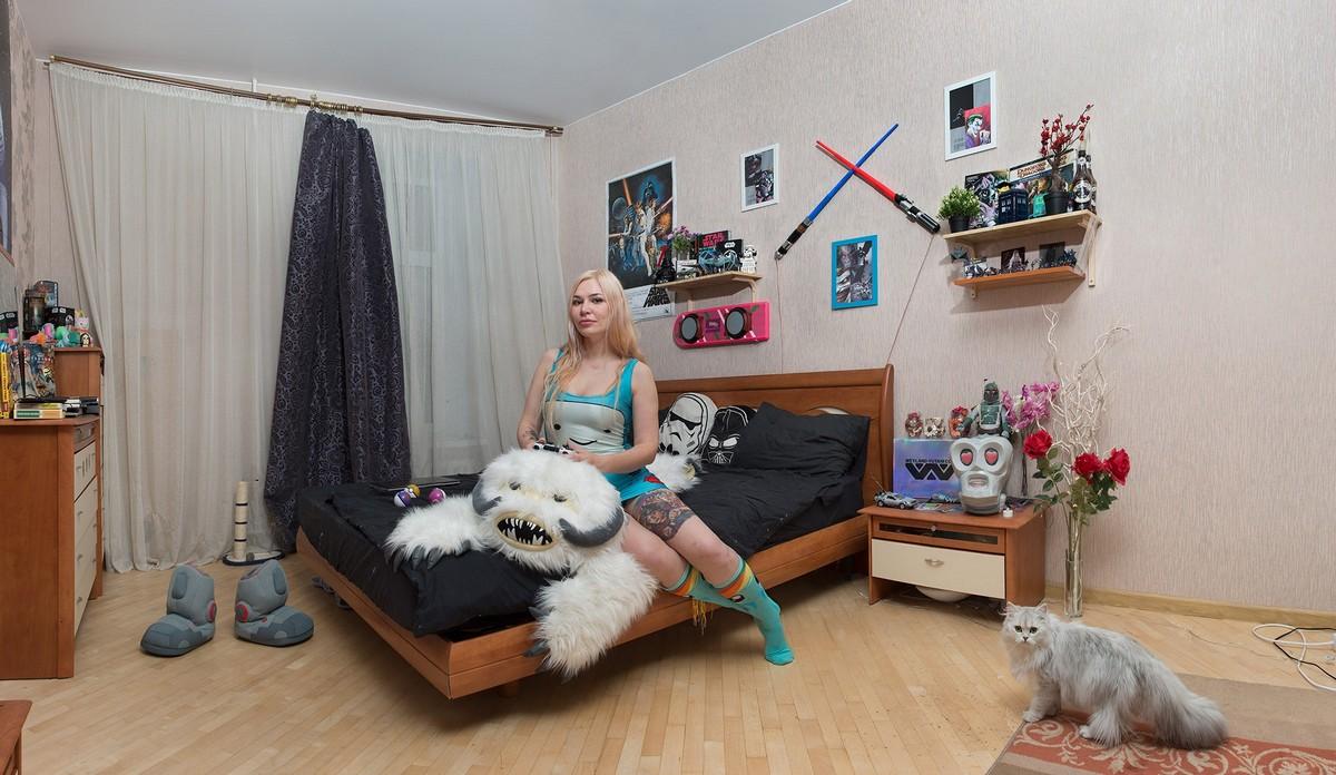 Современные затворники в фотопроекте Натальи Ершовой
