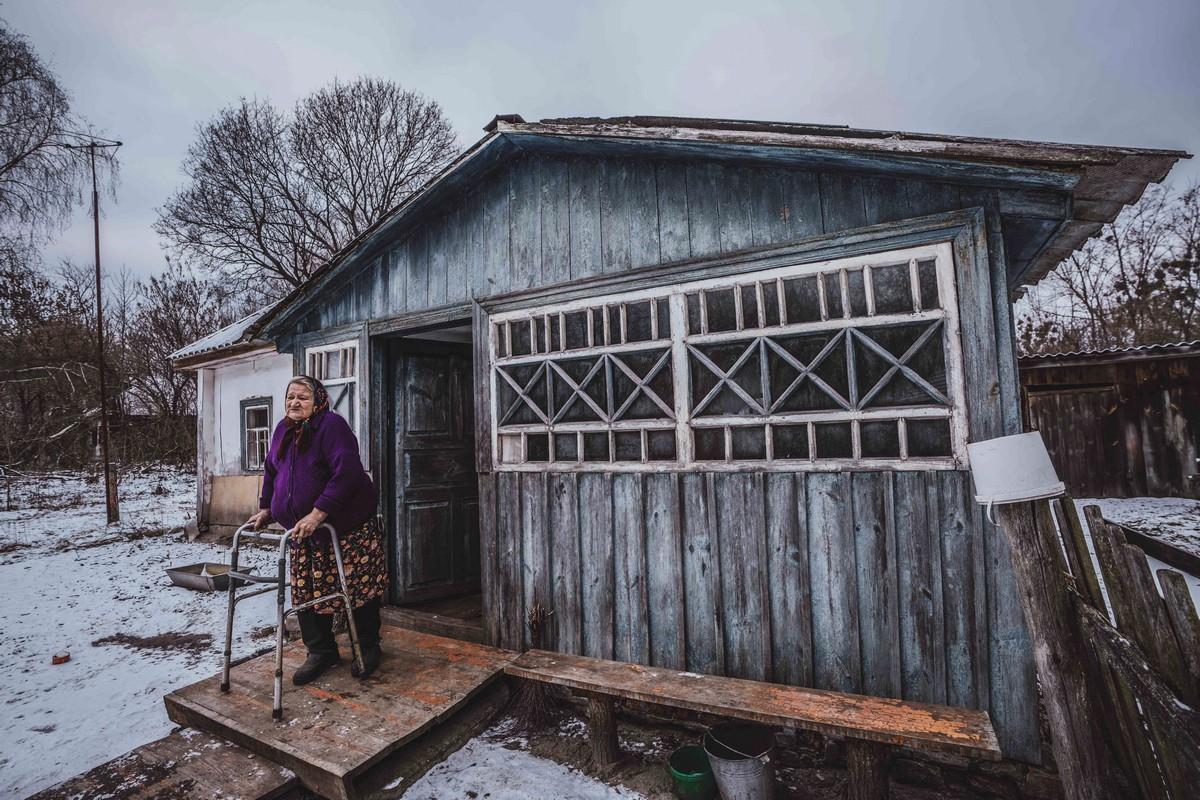 Деревни в Чернобыльской зоне отчуждения, где люди бросили вызов радиации и остались после катастрофы