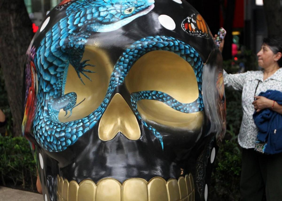 Мексика готовится ко Дню мёртвых (35 фото)
