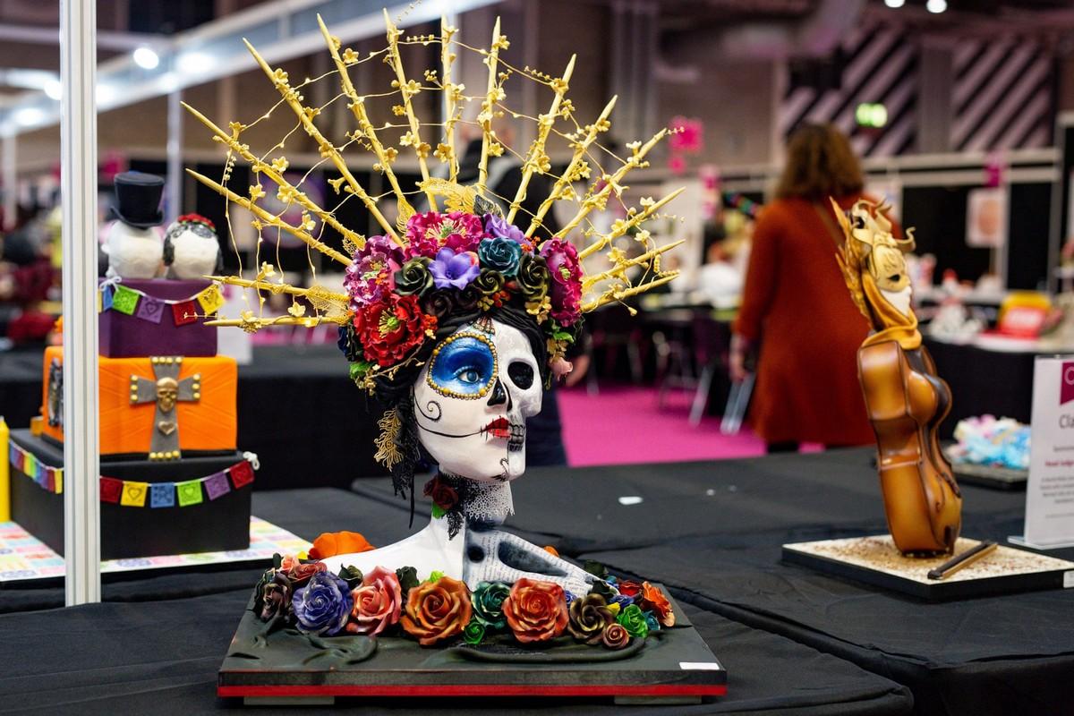 Фестиваль кондитерского искусства в Бирмингеме \Cake International\ (20 фото)