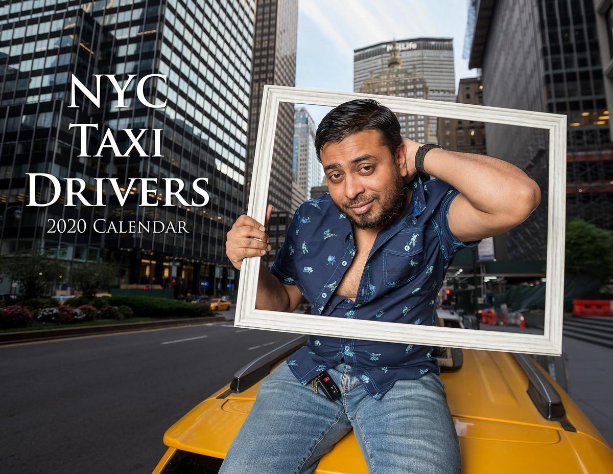 Веселый календарь с таксистами Нью-Йорка на 2020 год