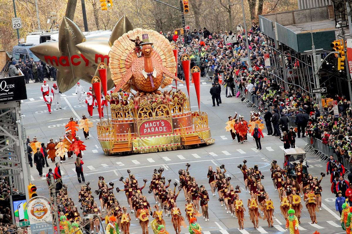 Парад в честь Дня благодарения в Нью-Йорке (35 фото)