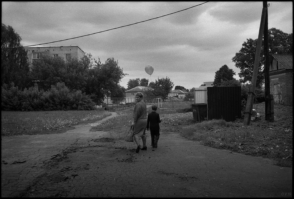 Россия на эмоциональных черно-белых фотографиях Олега Виденина (30 фото)