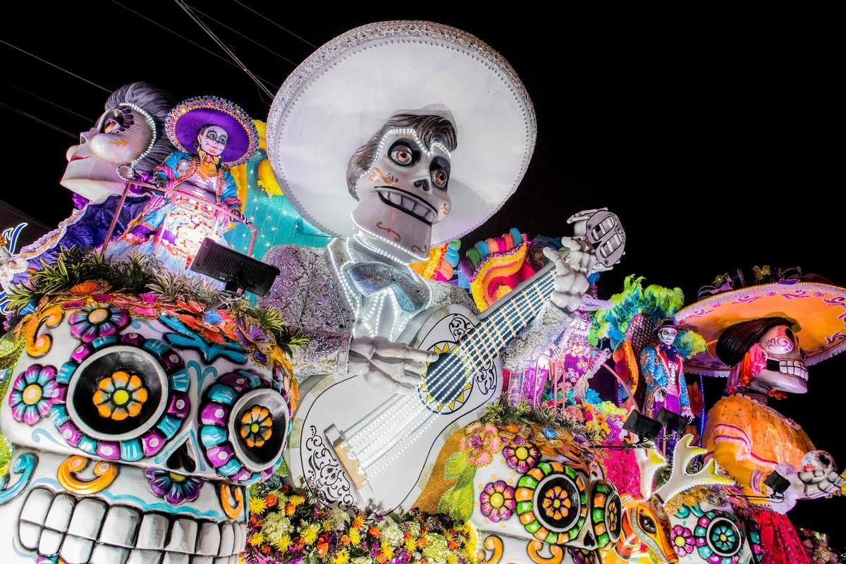 Фестиваль света в Сан-Хосе