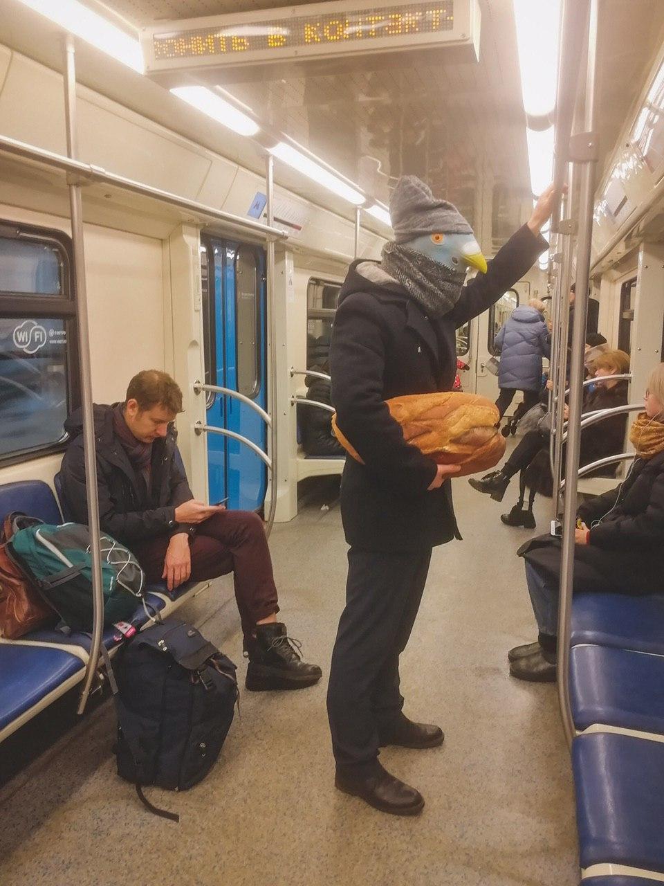 Модники и чудики из российского метрополитена - 122 (40 фото)