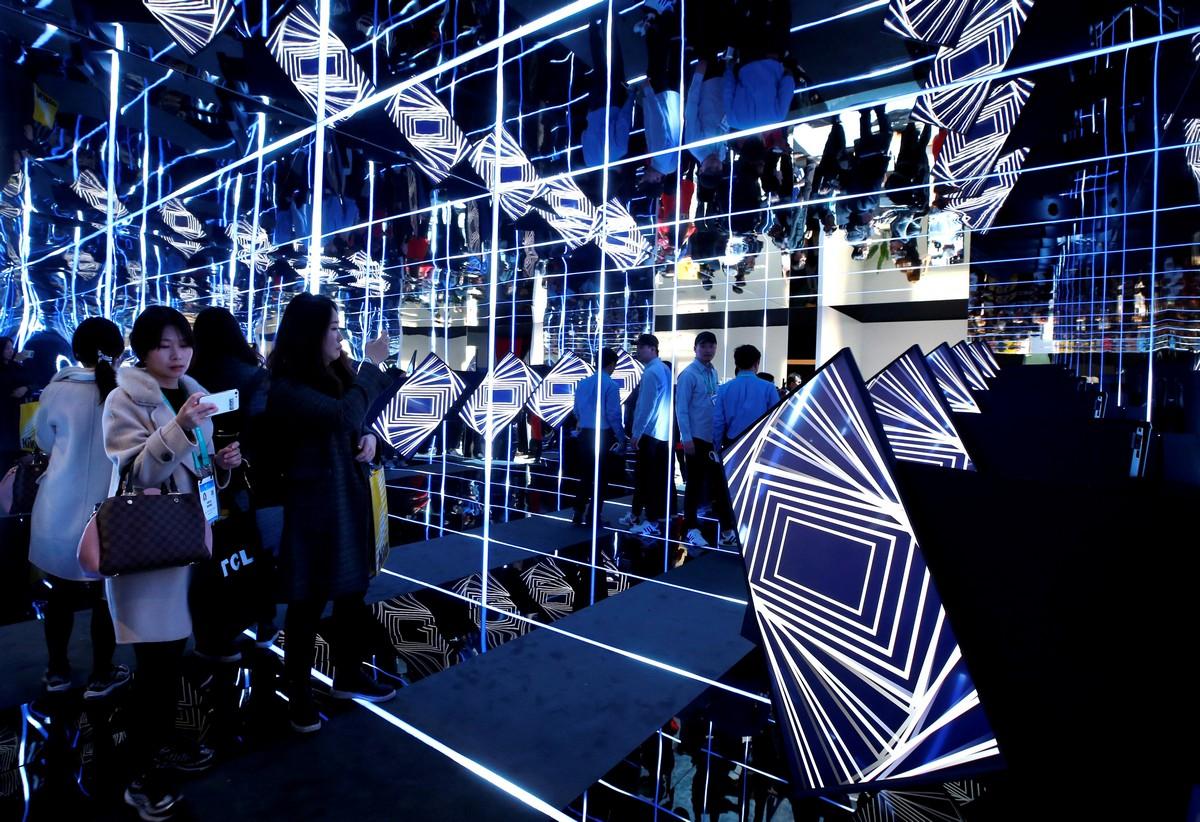 Выставка Consumer Electronics Show в Лас-Вегасе (30 фото)