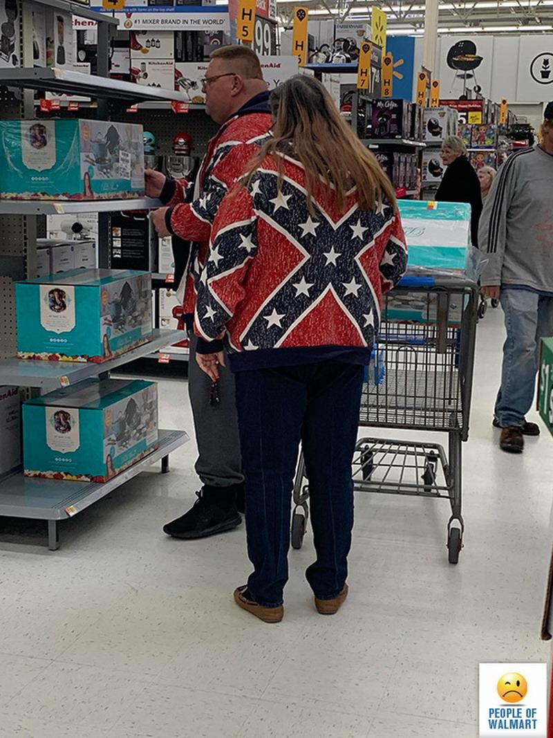 Прикольные и странные покупатели из Walmart - 26 (40 фото)