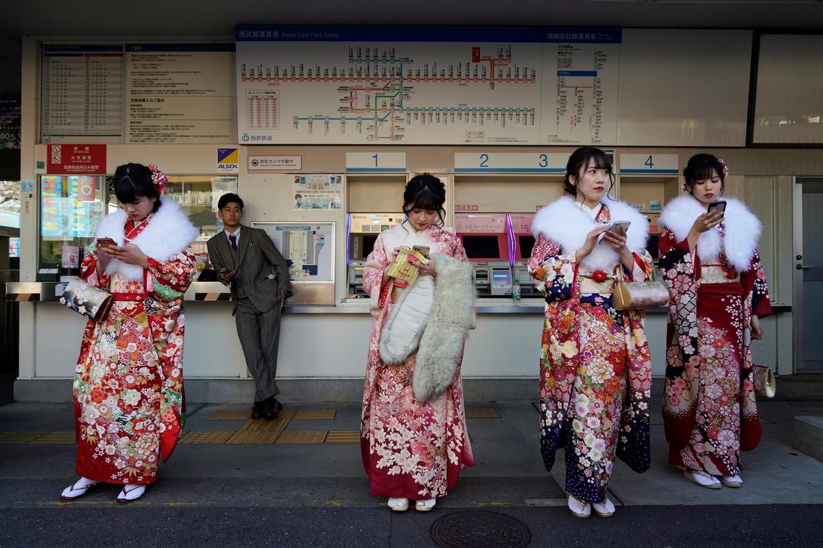 День совершеннолетия в Японии 2020 (35 фото)