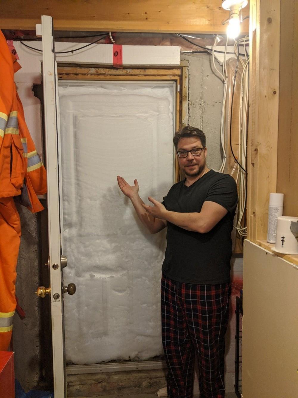 Снегопады в Канаде (30 фото)
