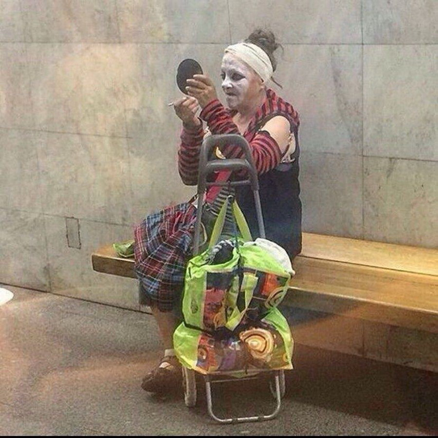 Модники и чудики из российского метрополитена - 125 (45 фото)