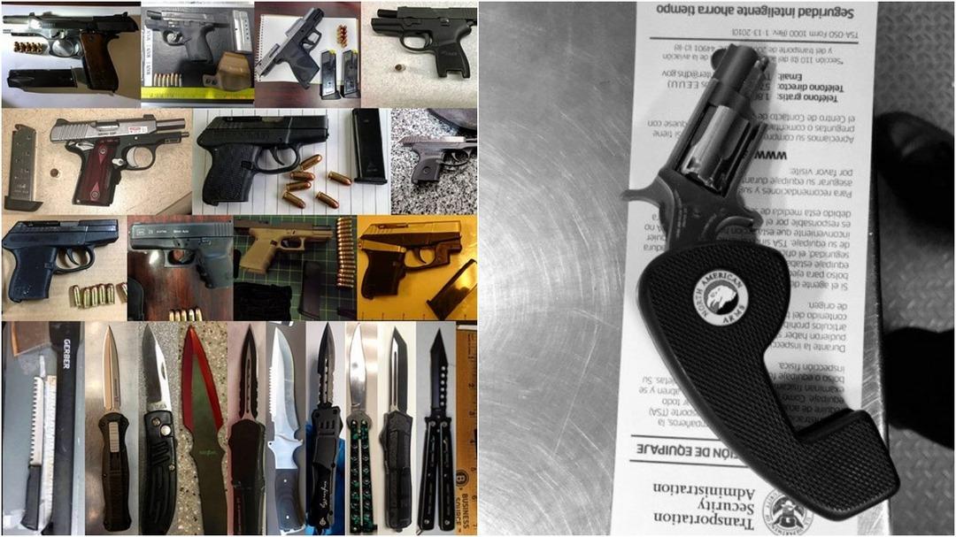 Администрация транспортной безопасности США публикует в Instagram необычные вещи, которые они изъяли