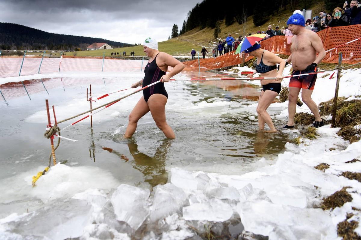 \Фестиваль холода\ в Швейцарии (20 фото)