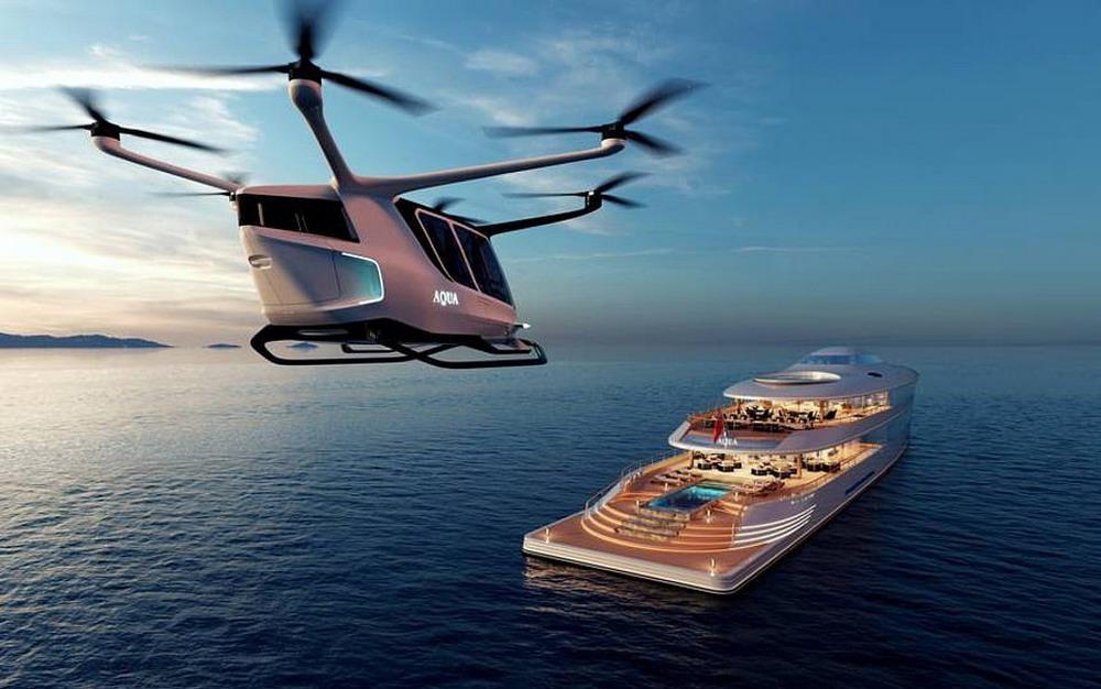 Билл Гейтс покупает экологичную роскошную суперяхту, работающую на жидком водороде, за 5 млн