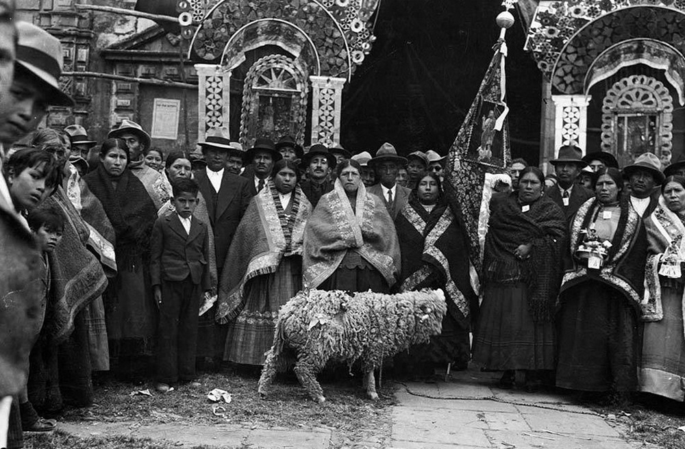 Перу в начале XX века: снимки коренного жителя Анд, индейца Мартина Чамби (30 фото)