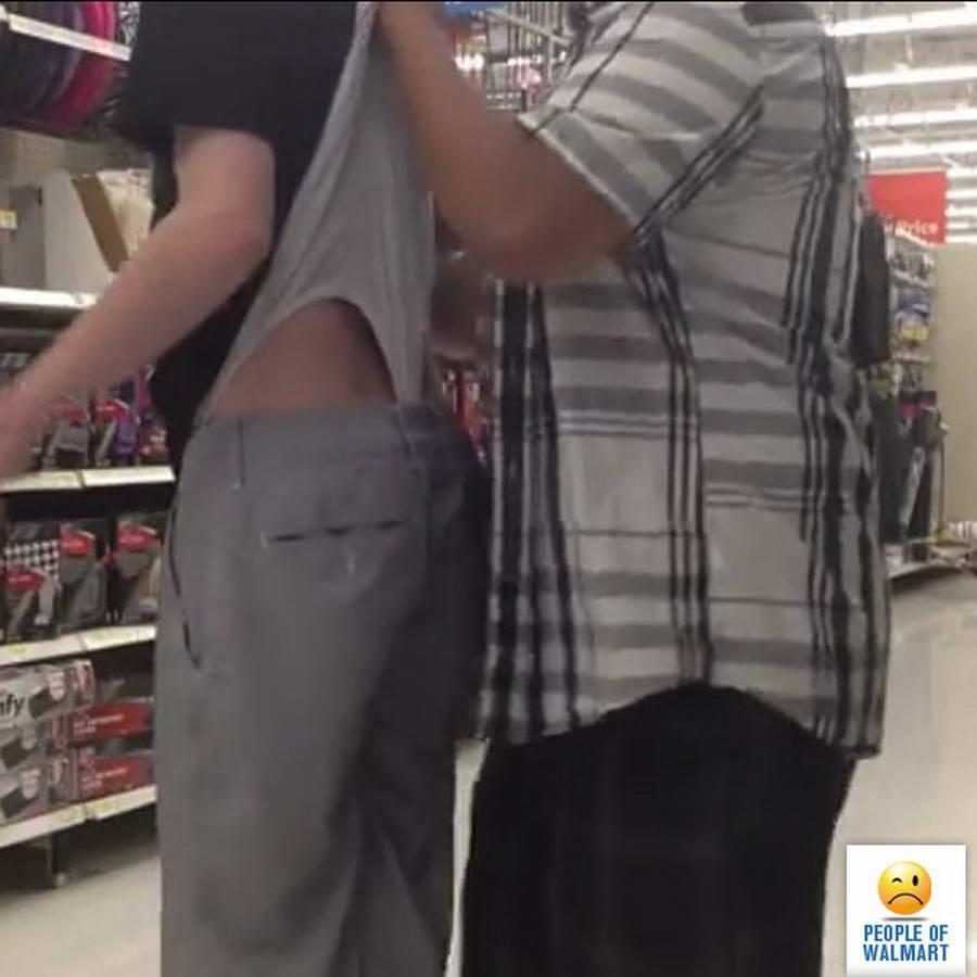 Прикольные и странные покупатели из Walmart - 29 (38 фото)