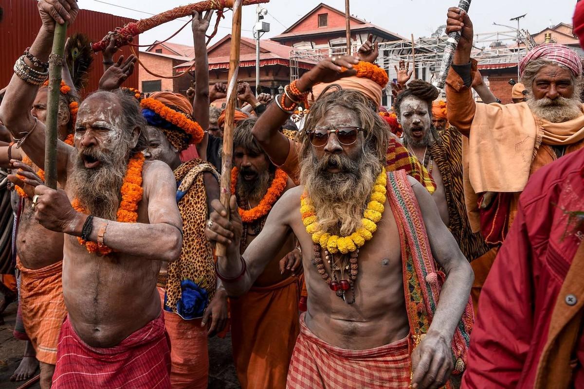 Индуистский праздник Махашиваратри в Непале (40 фото)