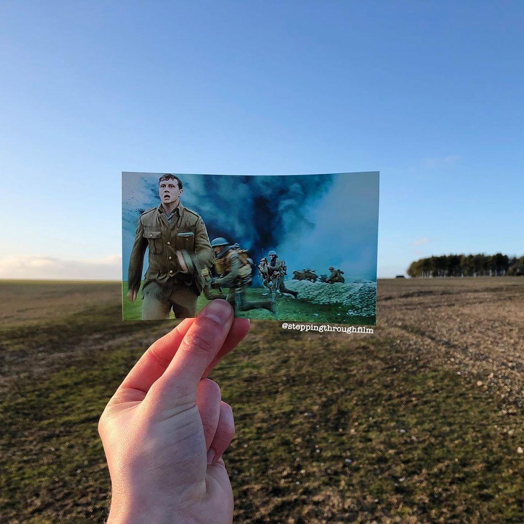 Британец совмещает кадр из фильма с реальным ландшафтом (25 фото)