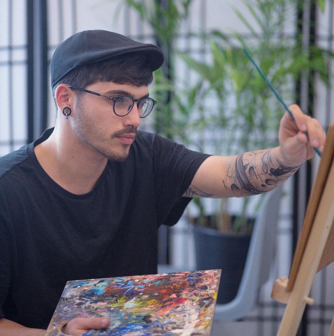 Израильский художник создаёт уникальные татуировки с героями поп-культуры