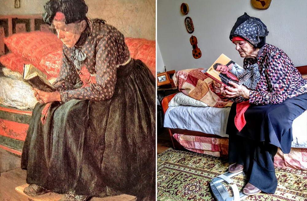 #Изоизоляция: люди косплеят картины известных художников (35 фото)