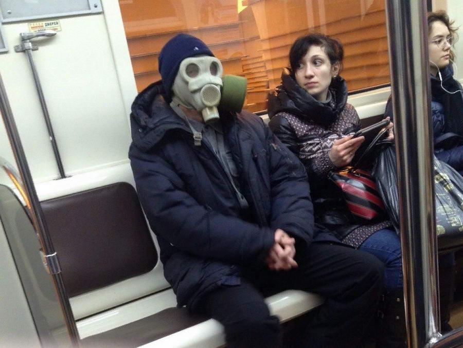 Модники и чудики из российского метрополитена - 144 (40 фото)