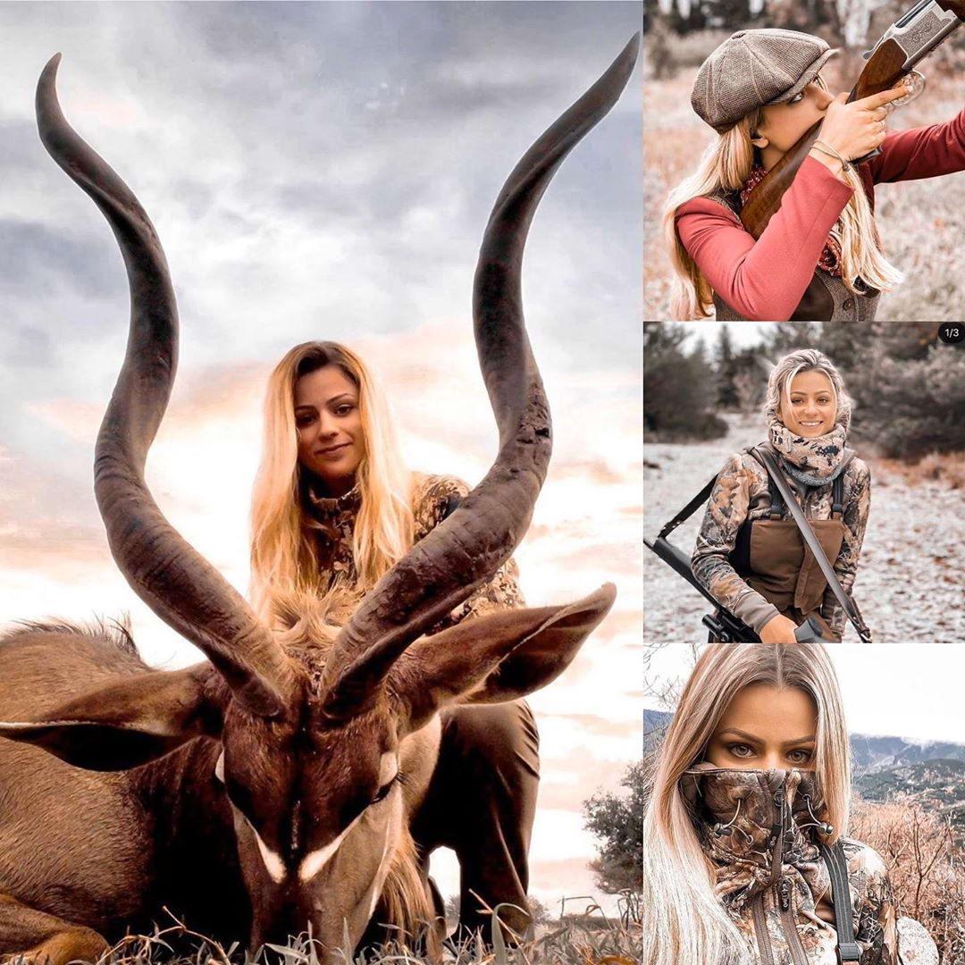 Убийцы с милыми лицами: Instagram-аккаунт, посвященный любительницам охоты и рыбалки