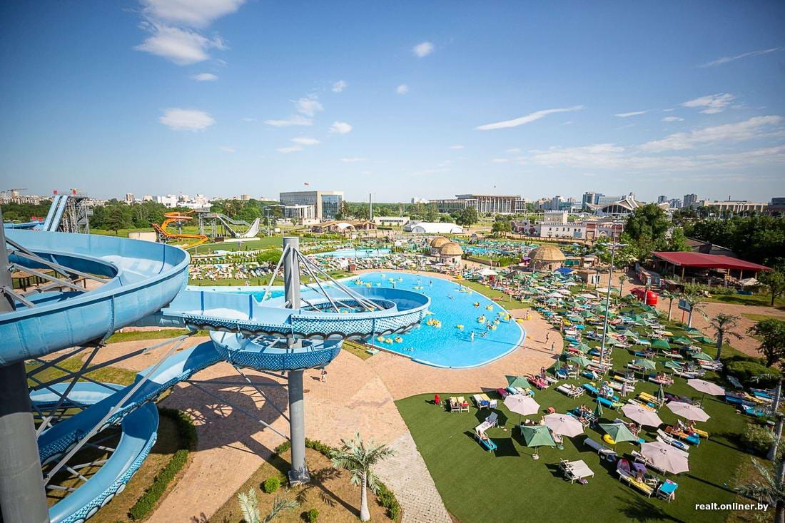 Открытие аквапарка Dreamland в Минске (40 фото)