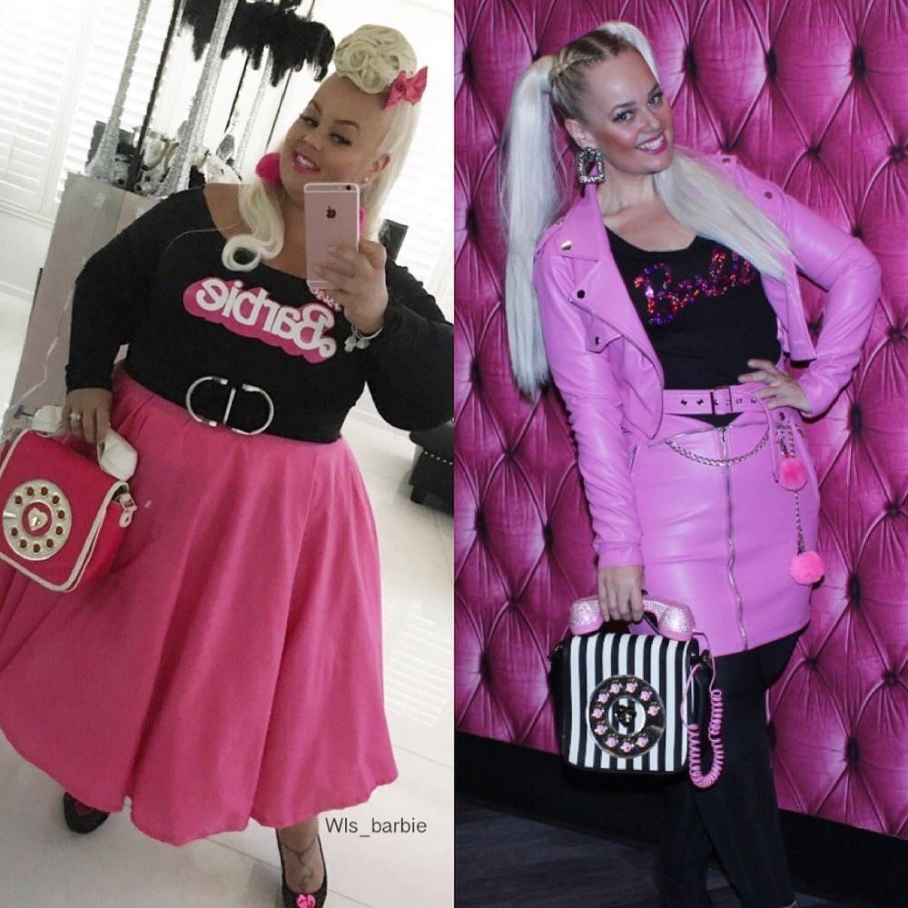 Фанатка куклы Барби из Лас-Вегаса похудела на 82 килограмма (20 фото)