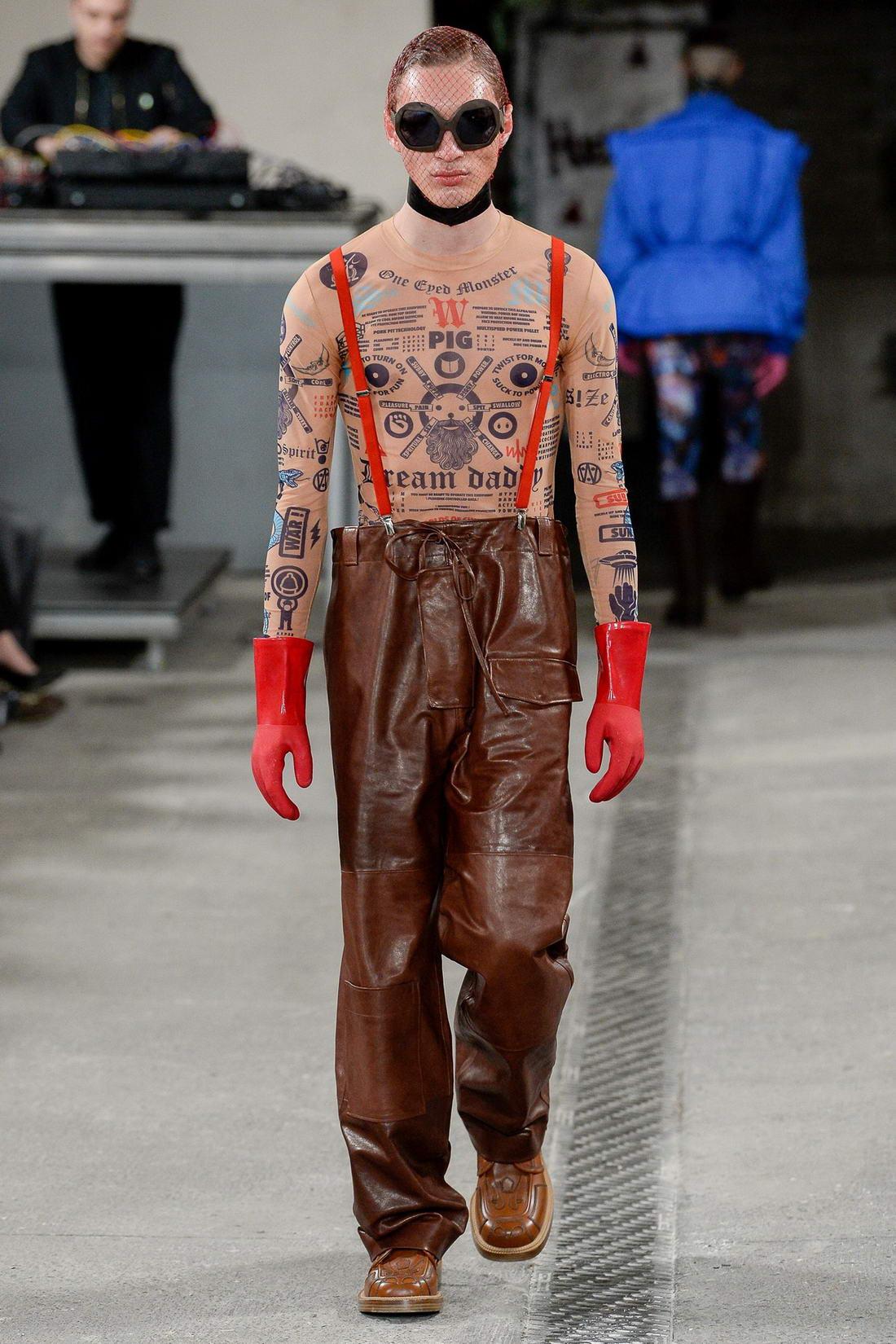 Мужская мода от Вальтера ван Бейрендонка (40 фото)