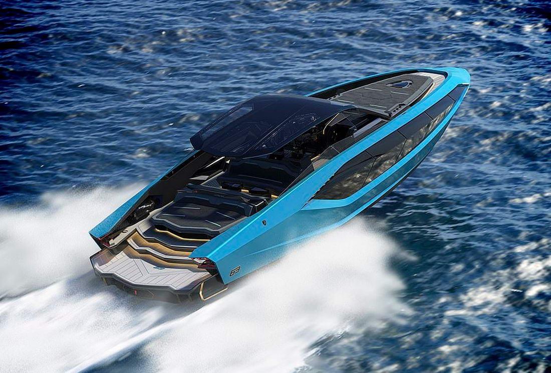 Lamborghini совместно с итальянским производителем лодок создали суперъяхту (фото + видео)