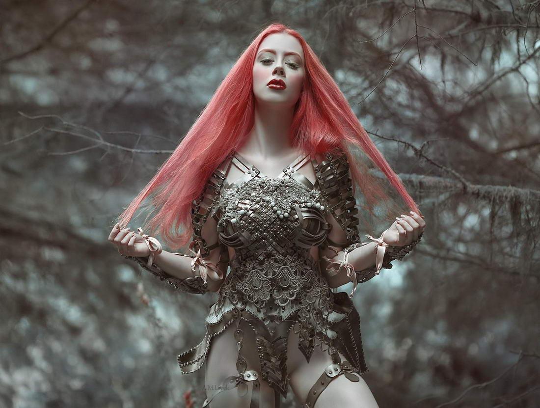 Лесные феи из волшебных миров на снимках Агнежки Лорек (35 фото)